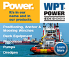 WPT Power Corporation - Pneumatic Clutches & Brakes for Marine Industry