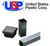 U.S. Plastic Corporation - Square Black Tubing Plugs by U.S. Plastic
