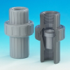 Plast-O-Matic Valves, Inc. - Series ARV Thermoplastic Air Release Valve