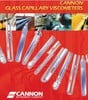 CANNON Instrument Company - Glass capillary viscometers