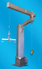 David Round - Stainless Steel Articulating Jib Crane