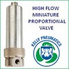 Kelly Pneumatics, Inc. - Precision High Flow Miniature Control Valve