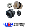 U.S. Plastic Corporation - Tank Fitting with Santoprene Gaskets