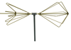 A.H. Systems Inc. - Folding Biconical antenna for portability