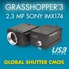 Point Grey Research, Inc. - 2.3 MP USB3 Vision Camera with Sony IMX174 CMOS