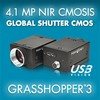 Point Grey Research, Inc. - 4.1 MP NIR USB3 Vision Global Shutter CMOS Camera