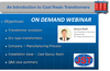 Cast Resin Transformers - On Demand Webinar-Image