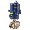 DynaQuip Controls - Electrically actuated stainless steel valves