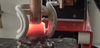 Ambrell Induction Heating Solutions - Brazing Copper and Brass Fittings to Make a Flange