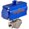 DynaQuip Controls - High-cycling pneumatically actuated SS valves