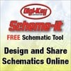 Digi-Key Corporation - Scheme-it Free Online Schematic Tool - at Digi-Key