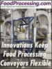 Cablevey Conveyors - Keep Food Processing Conveyors Flexible