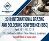 International Brazing and Soldering Conference (IBSC) 2018-Image