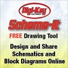 Digi-Key Electronics - Scheme-it Free Online Schematic Tool - at Digi-Key