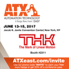 THK America, Inc. - Your Guest Invitation to ATX East!