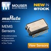 3D MEMS Sensors from Murata at Mouser.-Image