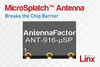 MicroSplatch™ Antenna Breaks the Chip Barrier-Image