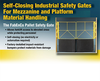 The FabEnCo Pallet Safety Gate-Image