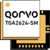 Qorvo - TGA2624-SM 9 - 10 GHz, 20 Watt GaN Power Amplifier