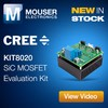 CREE KIT8020 SiC Eval Kit Now at Mouser.-Image