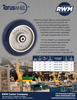 RWM Casters Company - Continuous towline wheel requires no maintenance!
