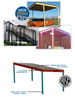 Cubic Designs' Permanent Canopies-Image