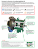EnviroPump and Seal, Inc. - ANSI/ISO Pump to exceed Bearing & Seal Life