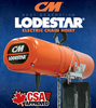 Columbus McKinnon Corporation Hoists & Rigging Products - New Lodestar Electric Chain Hoist Features