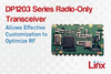Linx Technologies - DP1203 Series Radio-Only RF Transceiver Module