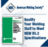 Qualify Your Welding Staff to Meet NEW B5.2 Specifications-Image