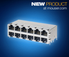 Mouser Electronics, Inc. - Molex RJ45 PoE+ Gigabit Magnetic Jacks with LEDs