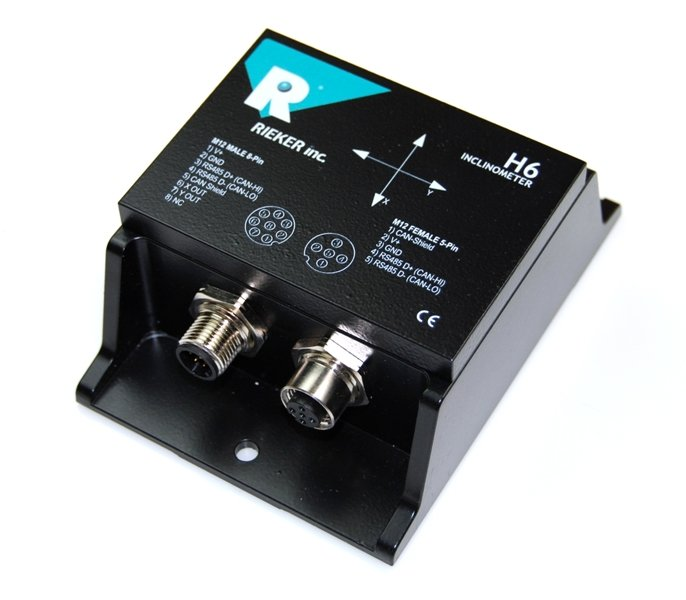 Electronic inclinometer sensor