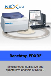 Rigaku Corporation - Benchtop EDXRF