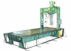 625 Ton Wide Bed Traveling Gantry Straightening Press