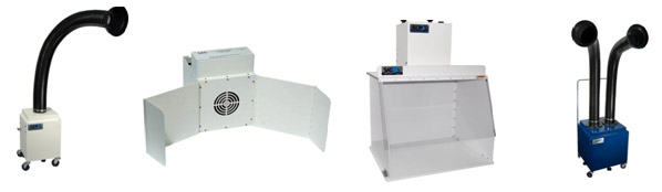Air Purification Systems, Ductless Fume Hoods and Fume Extractors