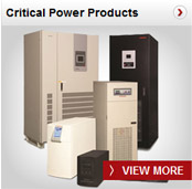 Critical Power Products