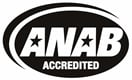 ANAB Accredited