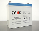 ZEUS Mobility Scooter Sealed Lead Acid Batteries