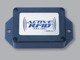 Revolutionary Active RFID Tag Utilizing 433 MHz-Image