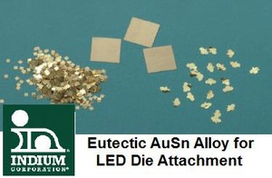 Eutectic AuSn Alloy for LED Die Attachment-Image