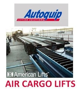 Dock Lifts Featuring Air Cargo Lift-Image