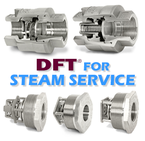 DFT® Tight Shut-off Check Valves for Steam Service-Image