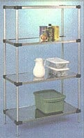 Solid Stainless Steel Shelving-Image
