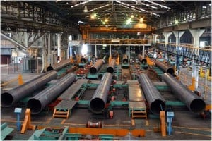 DSAW and ERW Longitudinal Welded Pipe. -Image