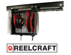 Reel mounting assembly for easy overhead mounting-Image