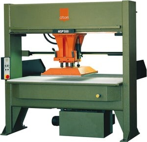 ATOM Traveling Head Die Cutting Press-Image