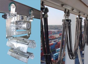 New Motorized Festoon Trolley for Container Cranes-Image
