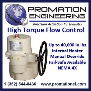 High Torque Electric Actuators by ProMation-Image