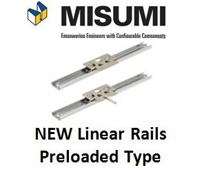 Linear Rails - Preloaded Type from Misumi-Image