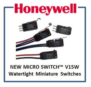 MICRO SWITCH V15W: Watertight Miniature Switches-Image